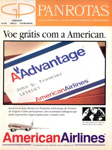 5a2df9950 Guia PANROTAS - Edição 243 - Junho/1993 by PANROTAS Editora - issuu