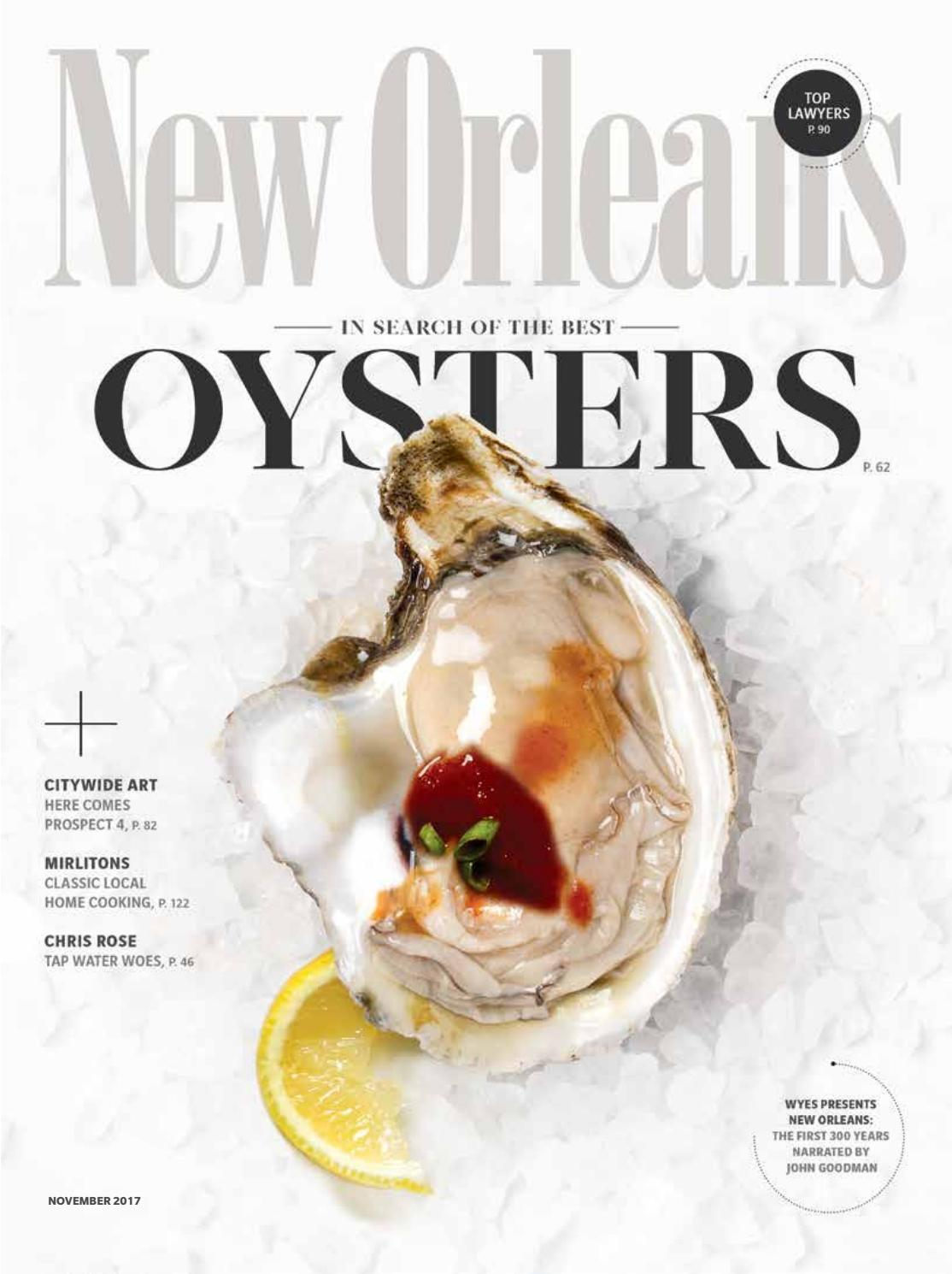 New Orleans Magazine November 2017 By Renaissance Publishing