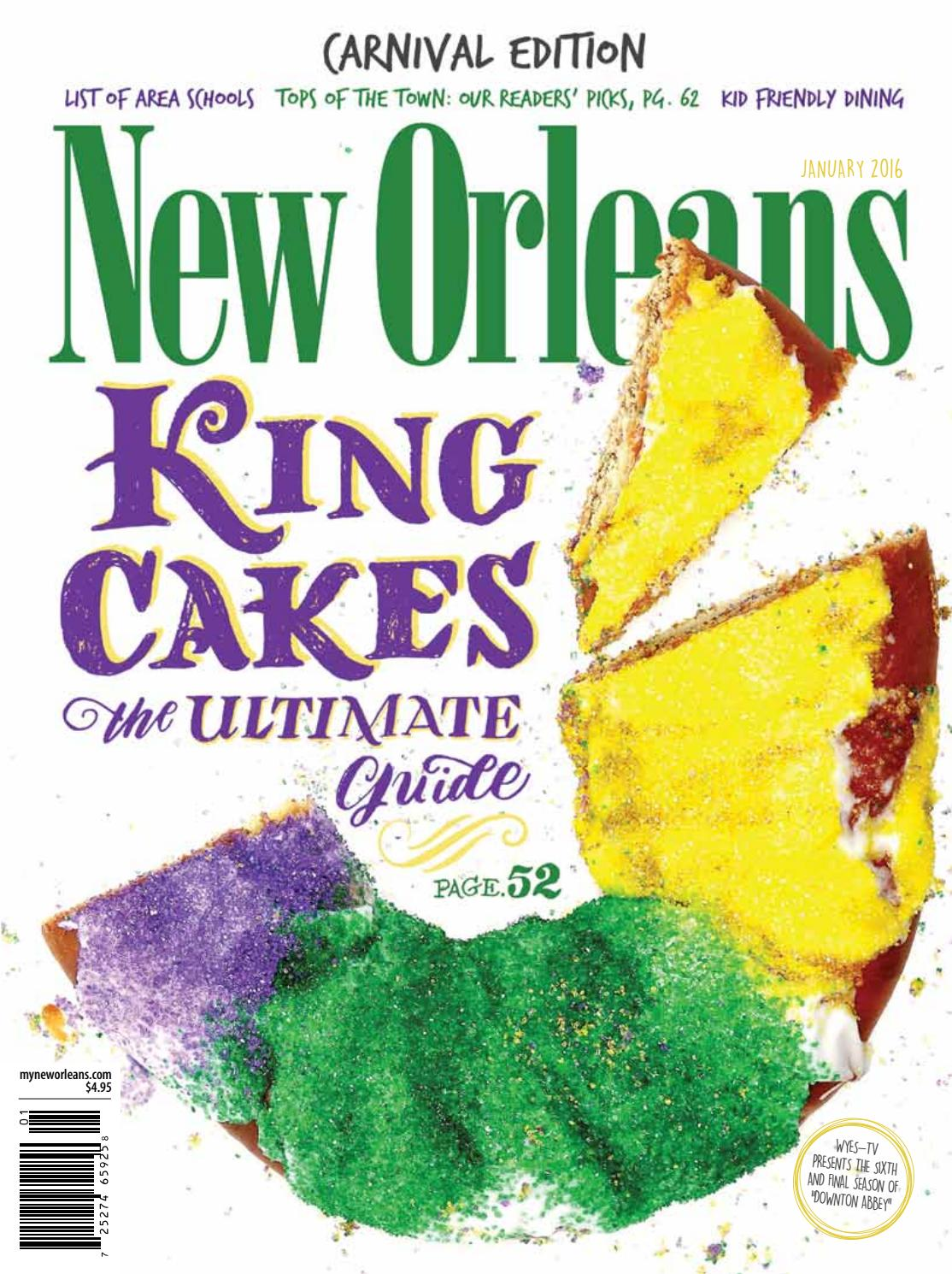 New Orleans Magazine January 2016 by Renaissance Publishing