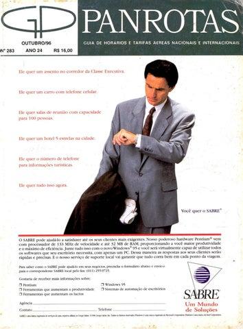 552613a26cb Guia PANROTAS - Edição 283 - Outubro 1996 by PANROTAS Editora - issuu