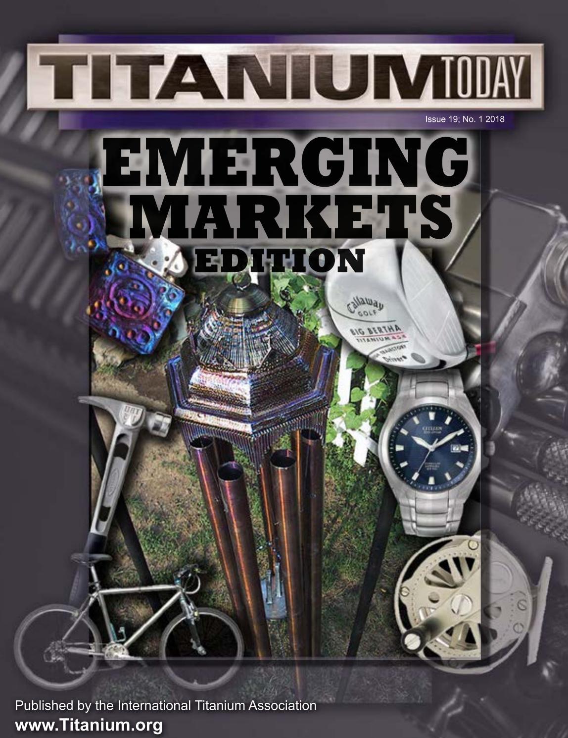 TITANIUM Today - Emerging Markets by TITANIUMTODAY - issuu
