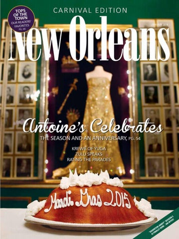 af9866eeaaee JANUARY 2015   VOLUME 49   NUMBER 1 Editor-in-Chief Errol Laborde Managing  Editor Morgan Packard Art Director Tiffani Reding Amedeo Contributing  Editor Liz ...