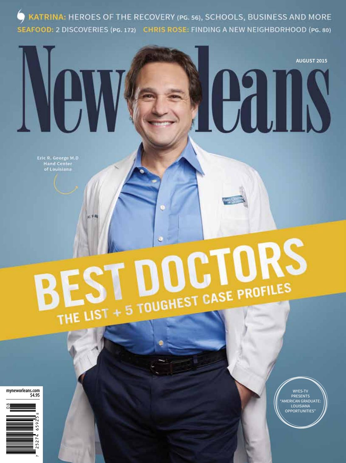 b7f540c189 New Orleans Magazine August 2015 by Renaissance Publishing - issuu