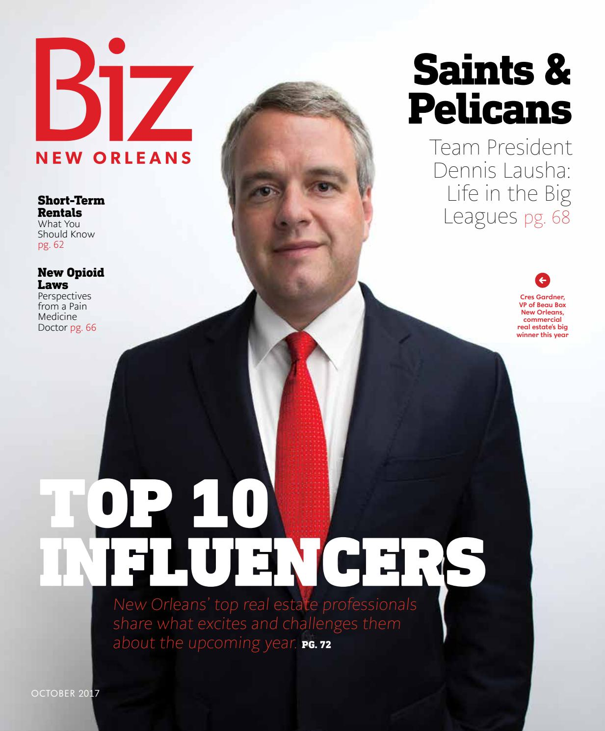 8cfb6a8fbc Biz New Orleans October 2017 by Renaissance Publishing - issuu