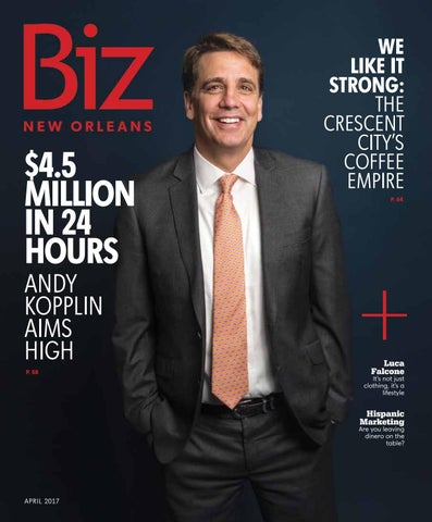 brand new 788f5 0b19c Biz New Orleans April 2017 by Renaissance Publishing - issuu