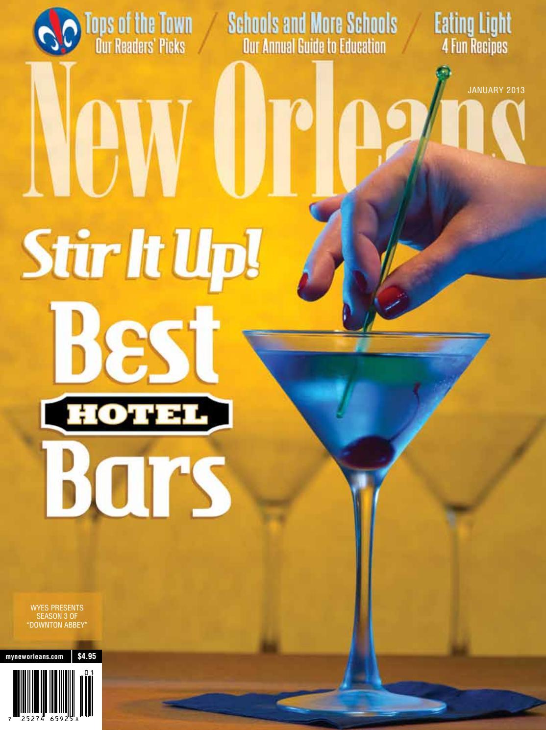 New Orleans Magazine January 2013