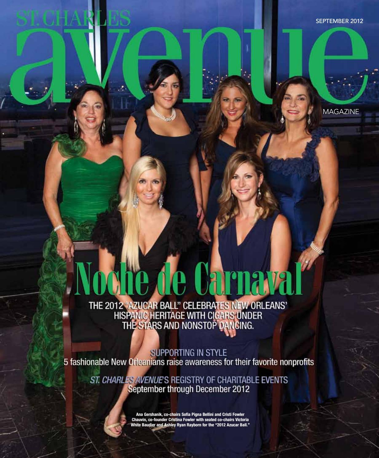 Angelique Lewis Nude st. charles avenue september 2012renaissance publishing
