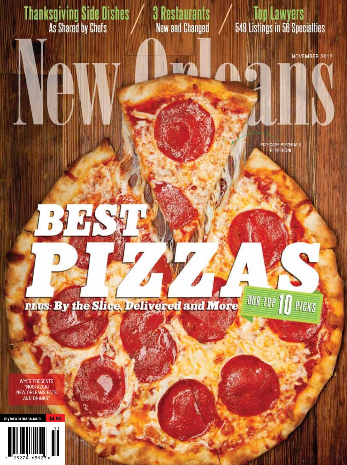 New Orleans Magazine November 2012 by Renaissance Publishing