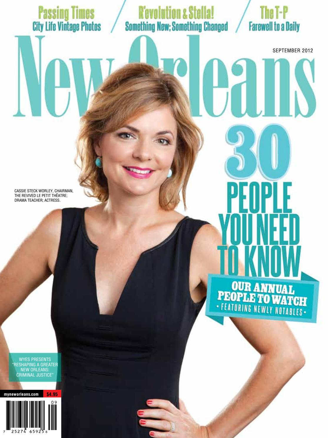 New Orleans Magazine September 2012 by Renaissance