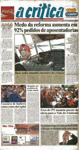 f3fcd75e10947 Jornal A Critica - Edição 1140 - 03 08 2003 by JORNAL A CRITICA - issuu