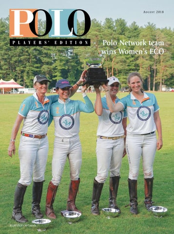 e93157b4a August 2018 Polo Players  Edition by United States Polo Association ...