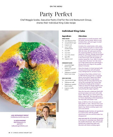 Page 26 of Party Perfect: Individual King Cake