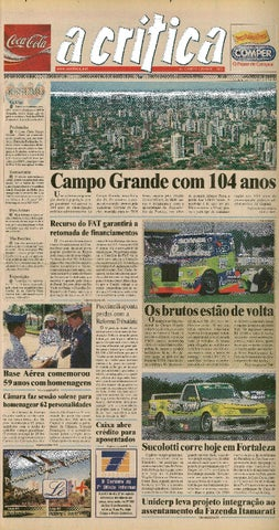 Jornal A Critica - Edição 1143 - 24 08 2003 by JORNAL A CRITICA - issuu 736307ecb0