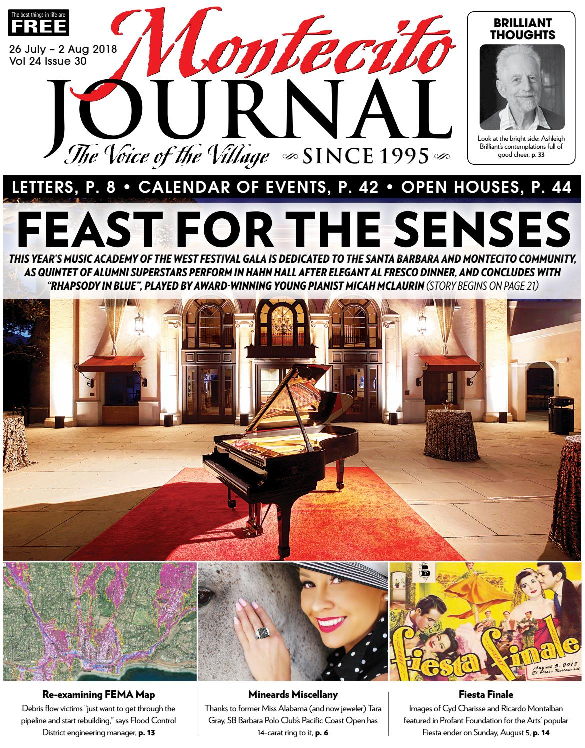 Feast For The Senses By Montecito Journal Issuu