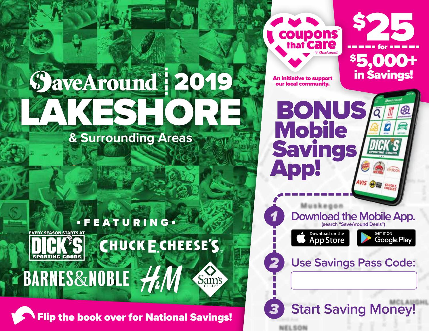 lakeshore coupons january 2019