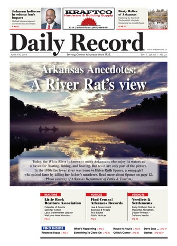 Arkansas Anecdotes A River Rats View By Daily Record Issuu
