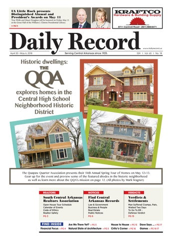 ed4612740 Historic dwellings: THE QQA explores homes in the Central High ...