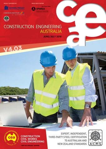 Construction Engineering Australia V4 03 June/July 2018 by EPC Media
