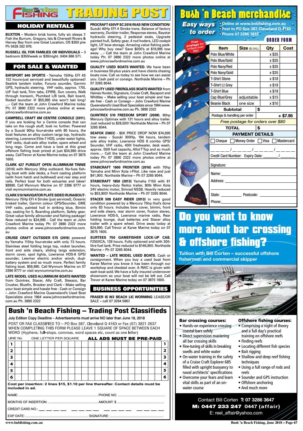 bnb fishing mag june 2018 by bnbfishing issuu
