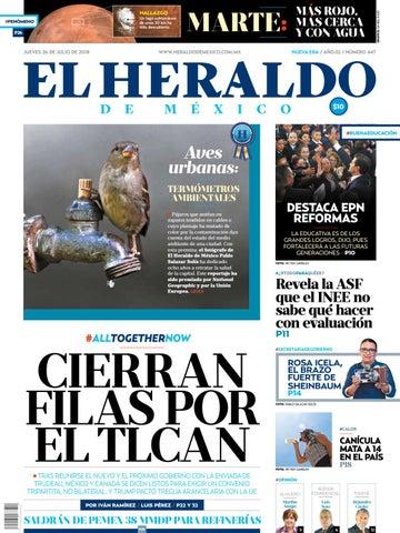 26 de julio de 2018 by El Heraldo de México - issuu fddd3193ba9