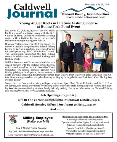 Caldwell Journal 07-26-2018 by Caldwell Journal - issuu