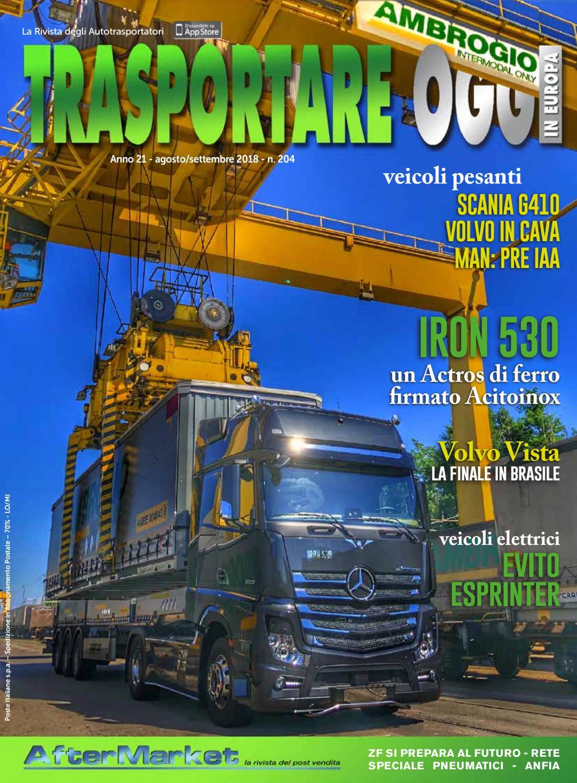 low priced 3ddf5 db968 N° 204 by Trasportare Oggi in Europa - issuu