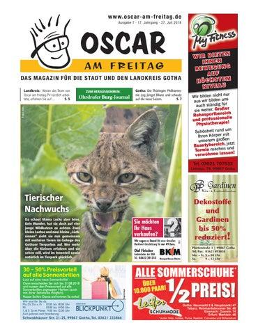 Oscar Am Freitag Gotha Und Landkreis Ausgabe 7 27 07