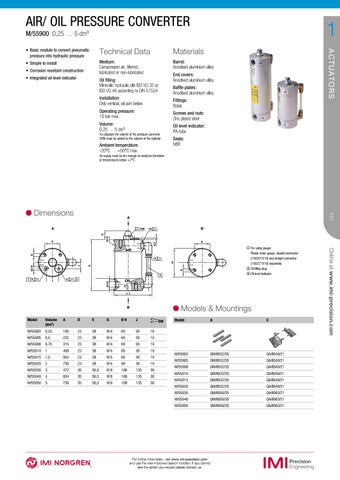Industrial Automation Solutions Catalogue 2018 by IMI Precision