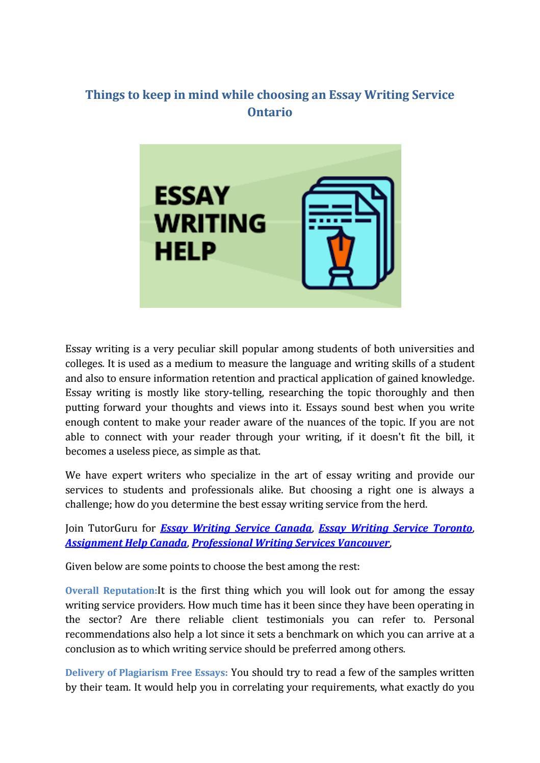 Essay writing service canada quotes in college essays