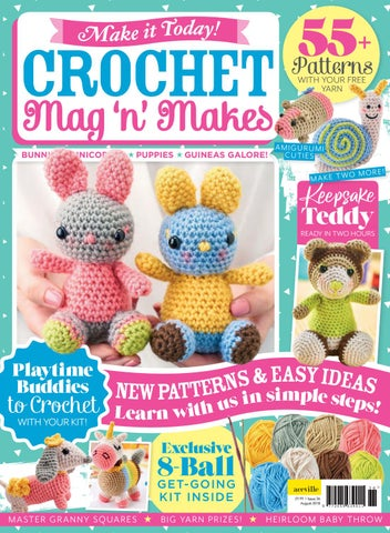 Make It Today 36 Crochet Mag N Makes By Make It Today Crochet Club