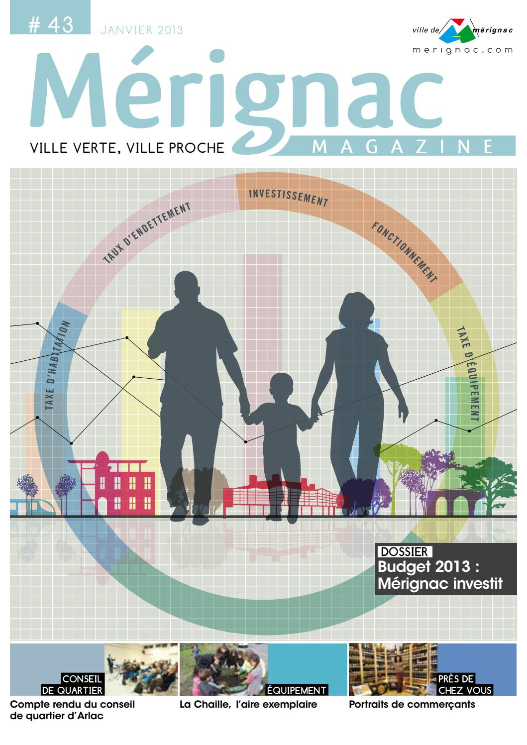 0d0f776abe397c Mérignac Magazine - Janvier 2013 by Ville de Mérignac - issuu