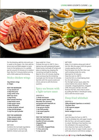 Page 39 of Spicy Summer Recipes