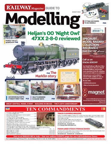 16d16a66be The Railway Magazine guide to Modelling by Mortons Media Group Ltd - issuu
