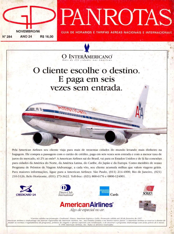 Guia PANROTAS - Edição 284 - Novembro 1996 by PANROTAS Editora - issuu a8e2b39484803
