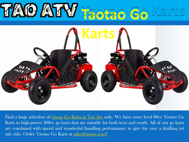 Taotao Go Karts by Tao Atv - issuu