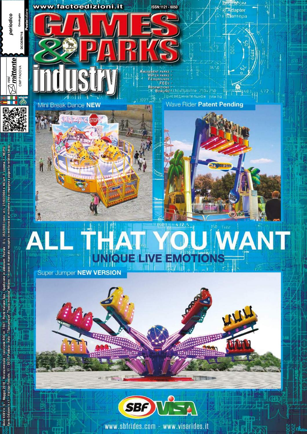 By Parks May Industry amp; 2018 Games Issuu qBaf8wf