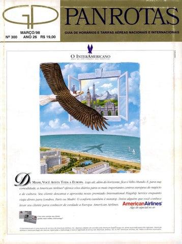 d1e325424 Guia PANROTAS - Edição 300 - Março/1998 by PANROTAS Editora - issuu