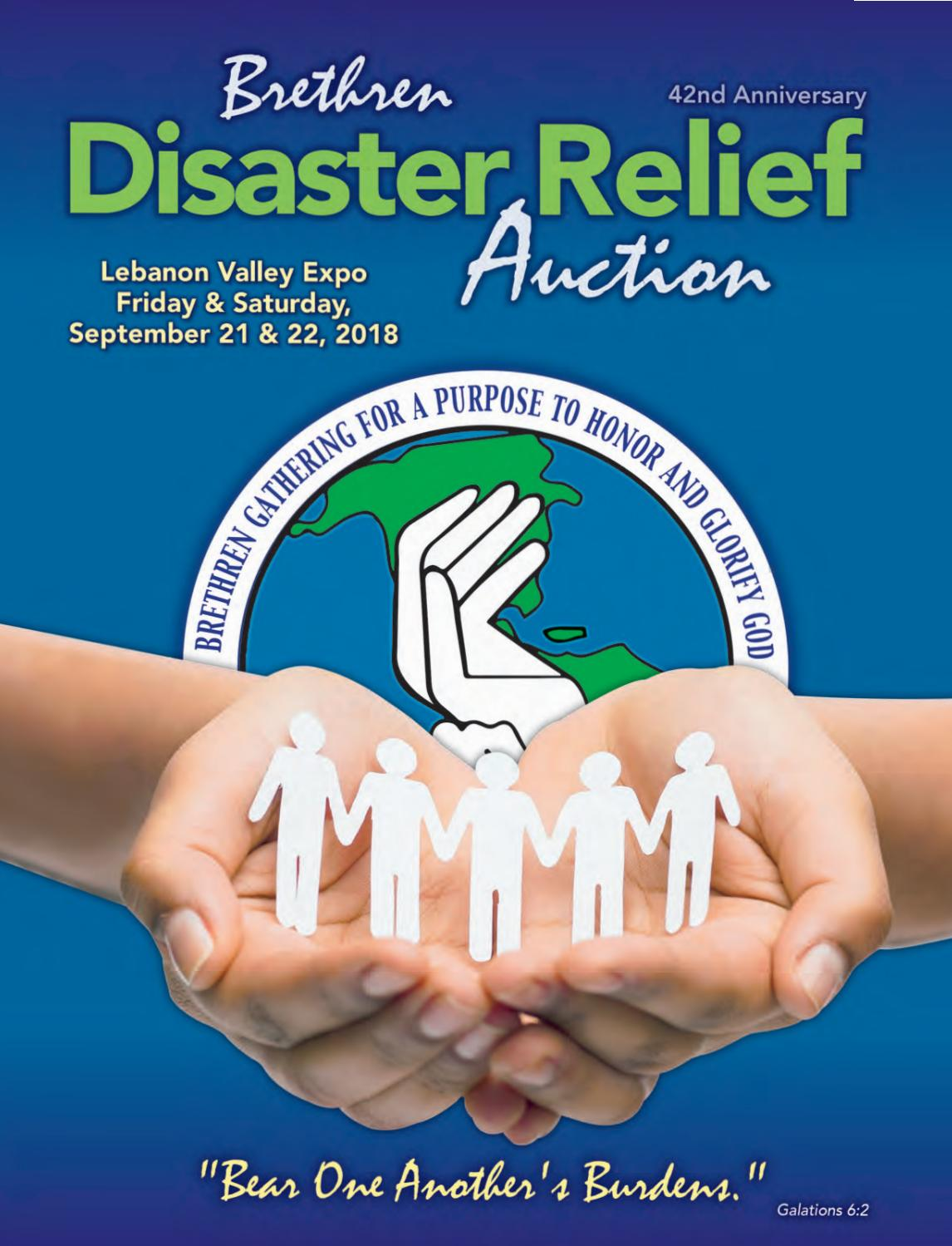 Brethren Disaster Relief Auction 2018