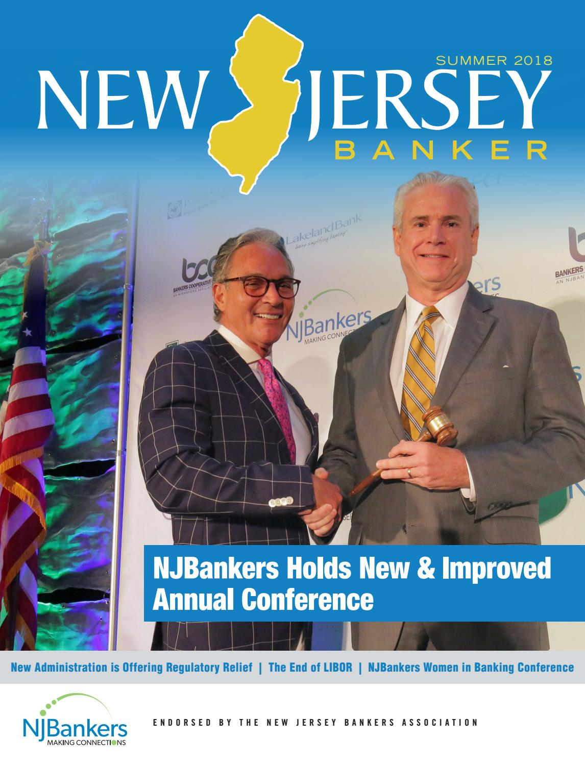 New Jersey Banker - Summer 2018 by ambizmedia - issuu 0c7747237