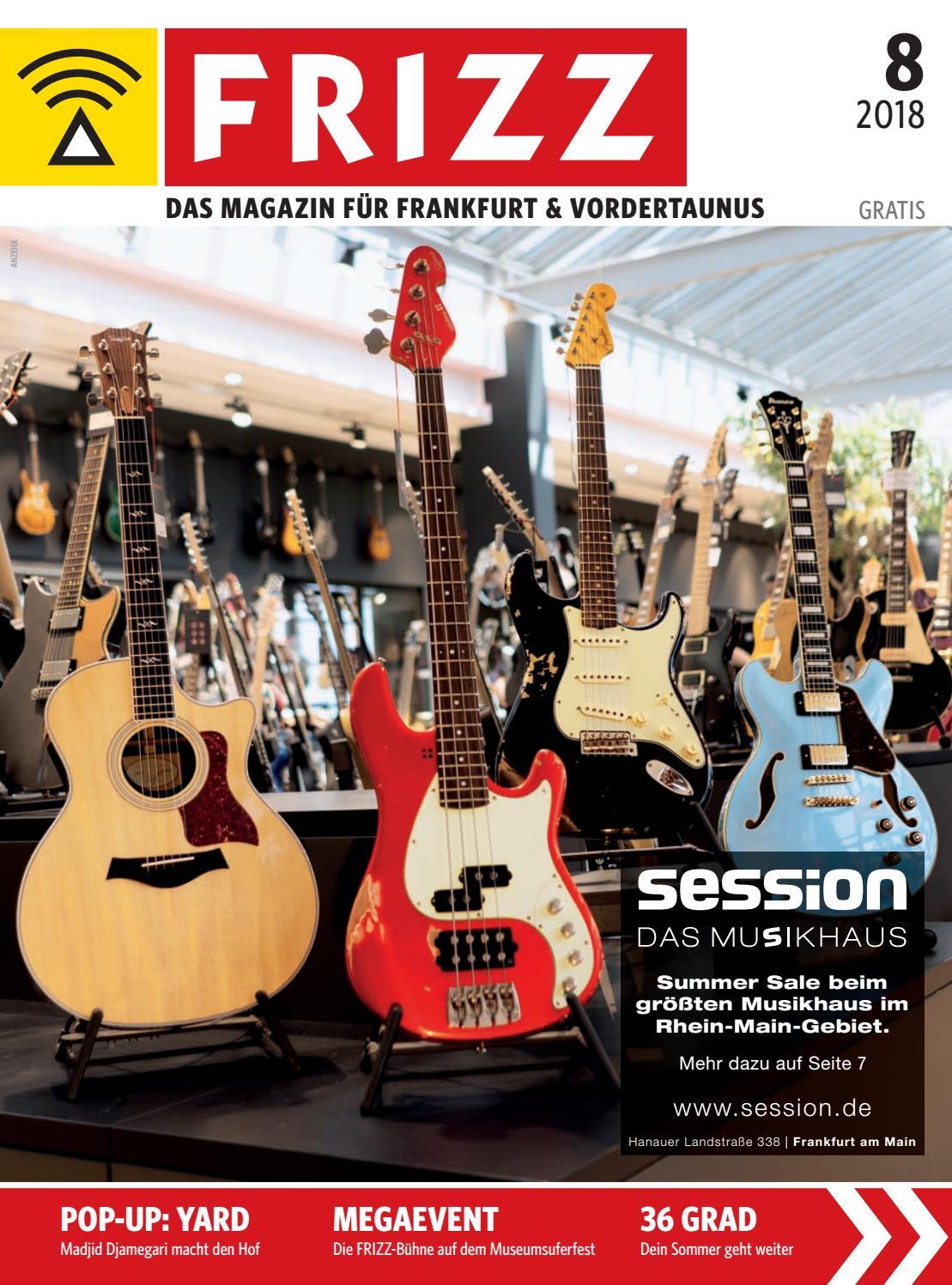 Frizz Das Magazin Frankfurt August 2018 By Frizz Frankfurt Issuu