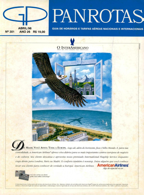 5262f8f0bee Guia PANROTAS - Edição 301 - Abril 1998 by PANROTAS Editora - issuu