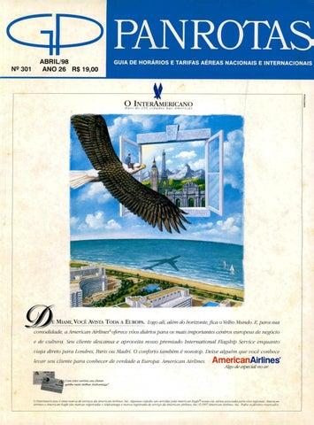 af626ac1d6d5f Guia PANROTAS - Edição 301 - Abril 1998 by PANROTAS Editora - issuu