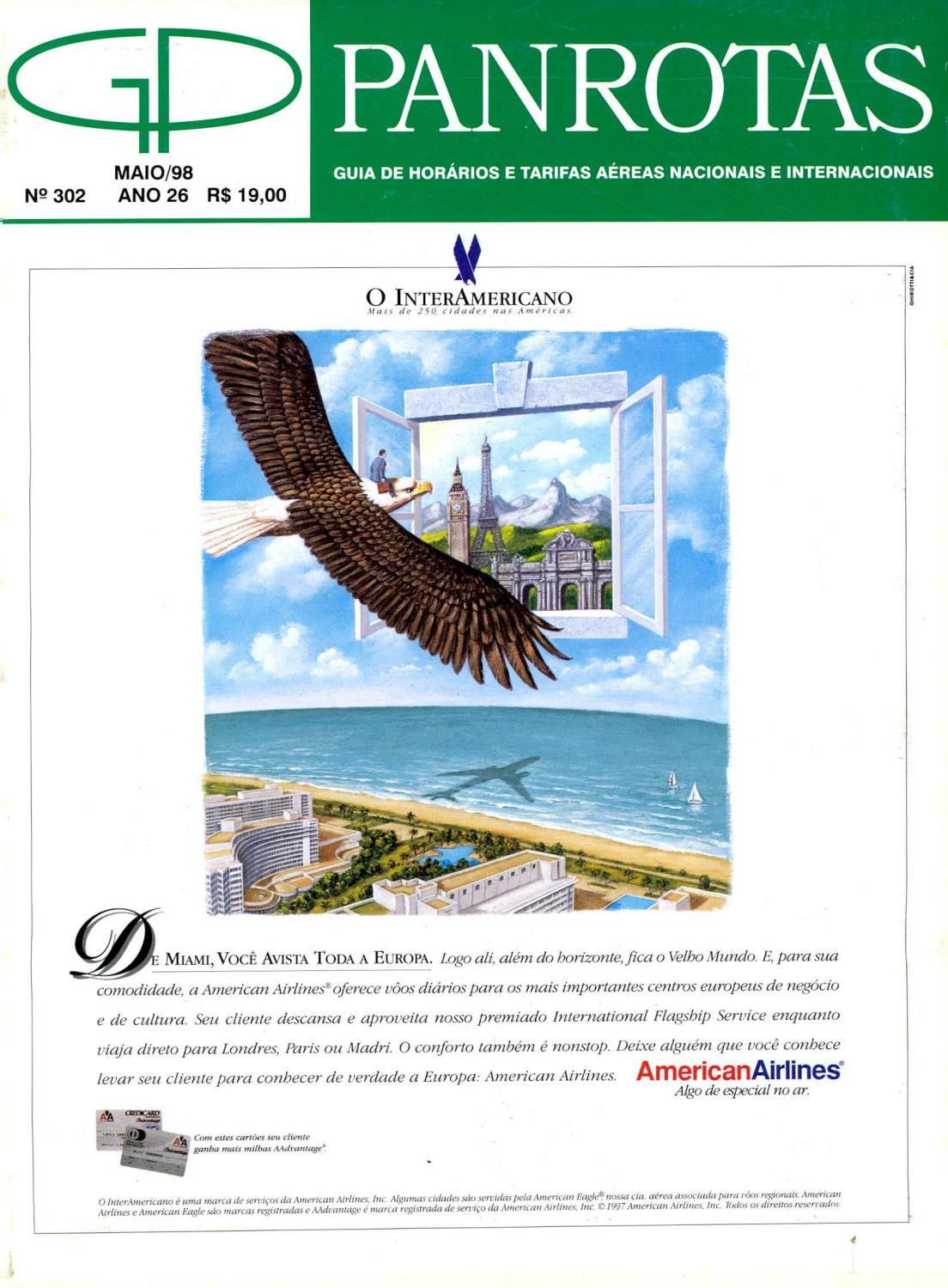 e9ce6b4a4 Guia PANROTAS - Edição 302 - Maio 1998 by PANROTAS Editora - issuu