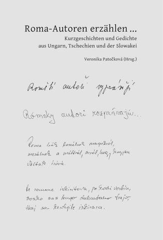Roma Autoren Erzählen Leseprobe By Romatrial Issuu