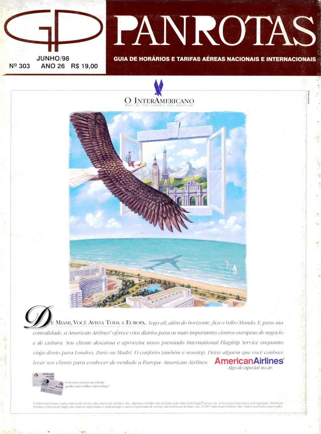Guia PANROTAS - Edição 303 - Junho 1998 by PANROTAS Editora - issuu fac972b83f