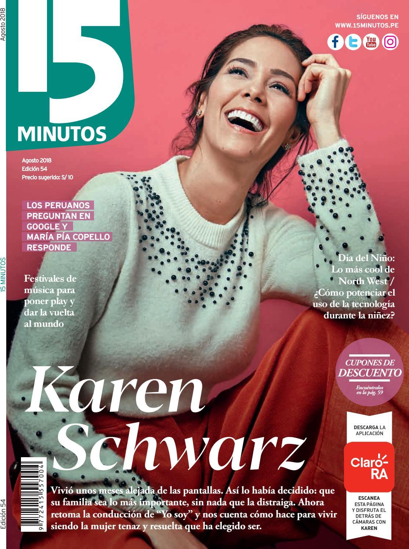 Revista 15 Minutos edición agosto 2018 by Revista 15 MINUTOS Perú - issuu 2bc550b7ea5