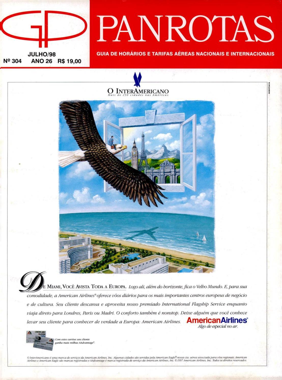 5b39d9102ef Guia PANROTAS - Edição 304 - Julho 1998 by PANROTAS Editora - issuu
