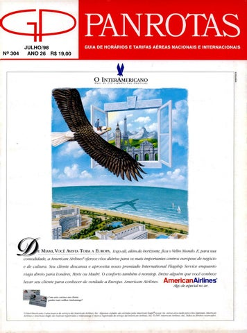 76c7e1037e434 Guia PANROTAS - Edição 304 - Julho 1998 by PANROTAS Editora - issuu
