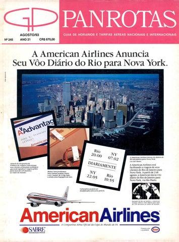 9a9635a6ec Guia Panrotas - Edição 245 - Agosto 1993 by PANROTAS Editora - issuu