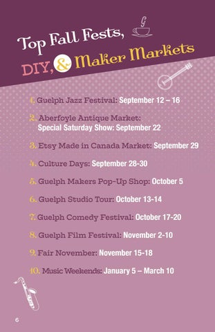 Page 6 of Top Fall Fests, DIY, & Maker Markets
